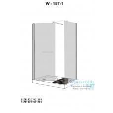 Душевой уголок Wasserfalle W-157-1 L 120*80
