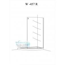 Душевой уголок Wasserfalle W-457 R