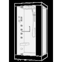 Душевая кабина Wasserfalle W-9801 L